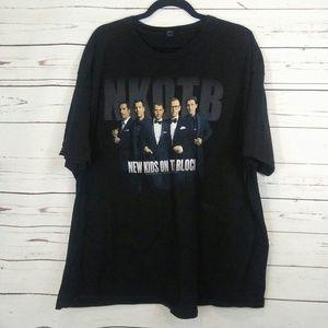 NKOTB concert tour t shirt size 3xl